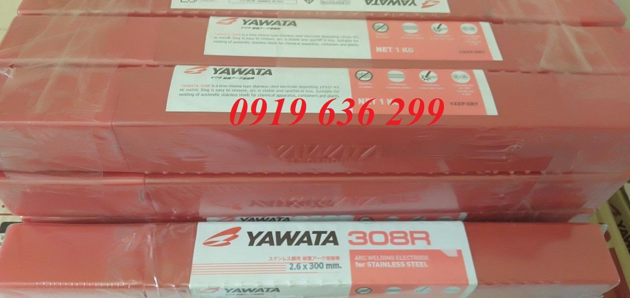Que hàn Inox E308 2.0mm; Que hàn Inox E308 2.6mm; Que hàn Inox E308 3.2mm; Que hàn Inox E308 4.0mm Yawata