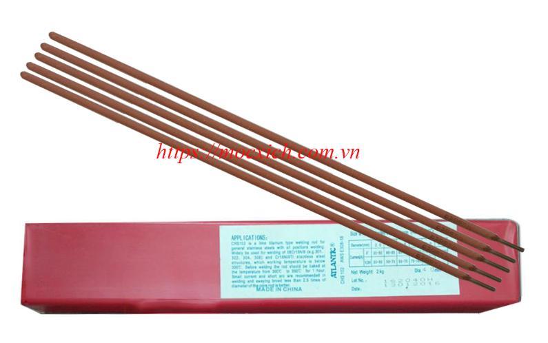 Que hàn Inox, ER308 2.5mm (Atlantic); Que hàn Inox ER308 3.2mm(Atlantic); Que hàn Inox ER308 4.0mm(Atlantic);