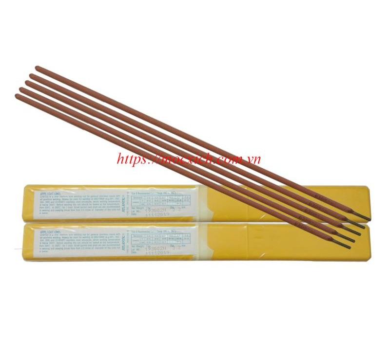 Que hàn Inox ER308 2.5mm (Atlantic); Que hàn Inox ER308 3.2mm(Atlantic); Que hàn Inox ER308 4.0mm(Atlantic);